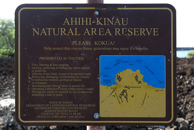 I have reached the Ahihi-Kinau Natural Area Reserve