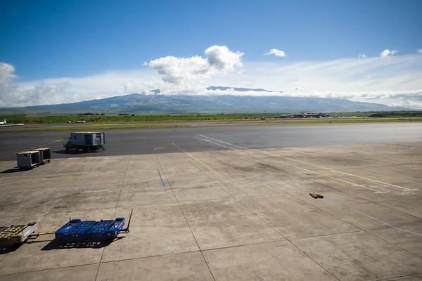 Haleakala from the airport