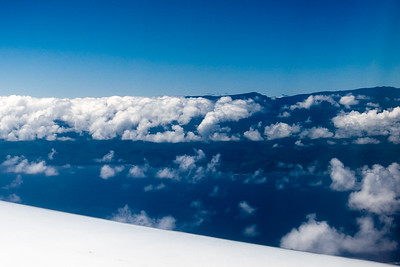 This time we approach Maui on the Hana side of Haleakala
