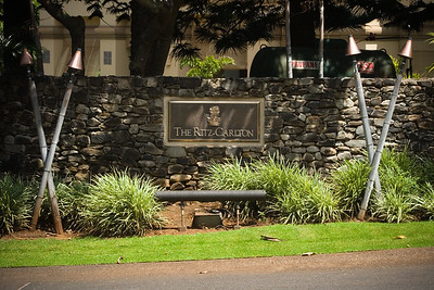 I walk back down Office Road and on to Ritz-Carlton Drive