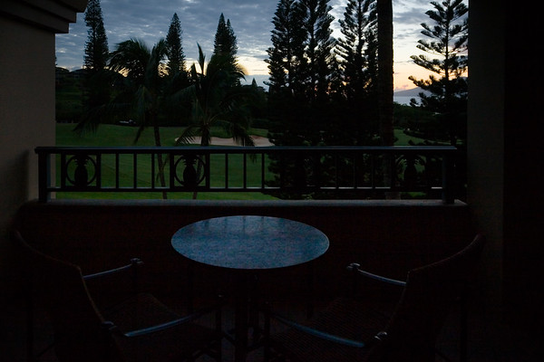 The end of another beautiful day in Kapalua