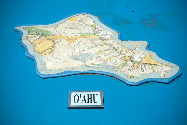 Only visited O'ahu once