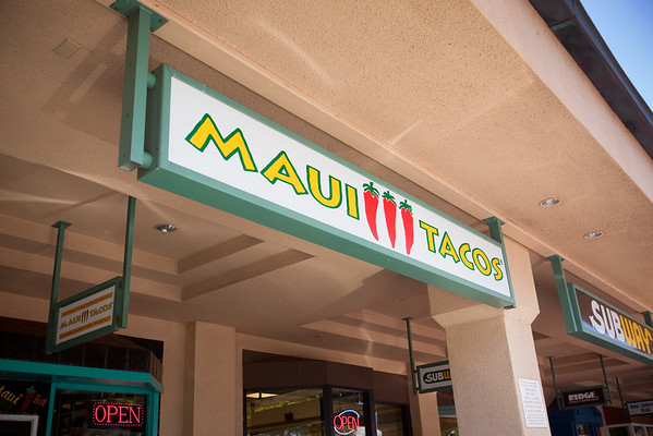 DAY 08 - For lunch, I head to Maui Tacos...forgetting that I first tried food from one of their locations during my marathon trip