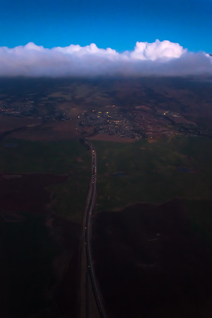I think this is the Haleakala Highway as it heads into Pukalani