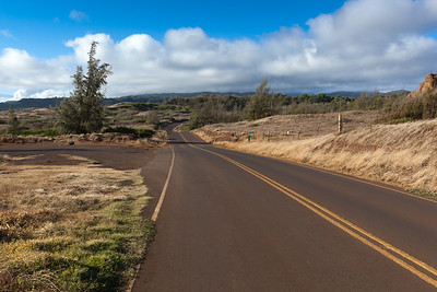 DAY 7 - We arrive at the Mile 38 marker on the Honoapi'ilani Highway...Valerie's first time here, but not mine