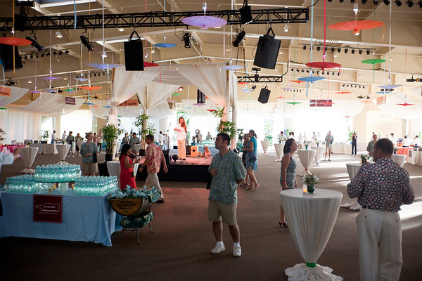 This year's Grand Tasting takes place at the Aloha Garden Pavilion of The Ritz-Carlton, Kapalua.  This is my first time attending any event related to The Kapalua Wine & Food Festival