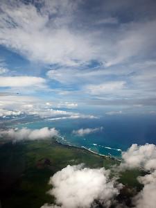 Maui below!