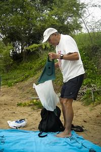 DAY 6 - I return to Ulua Beach to go snorkeling with my dad