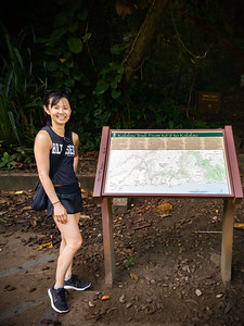 Today, Valerie and I plan to hike the Kalalau Trail until we reach the beach