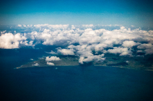 DAY 8 (continued) - Kaena Point, the westernmost tip of land on the island of Oahu, enters view