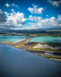 HNL comes into view...we'll be on the ground in just a few seconds