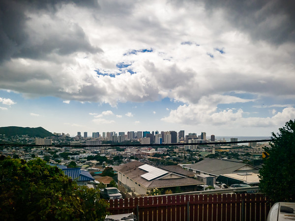 Natsunoya Tea House is located on a hill overlooking Honolulu
