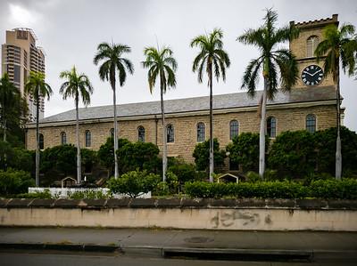 Kawaiaha'o Church...a historic 1842 church made of coral