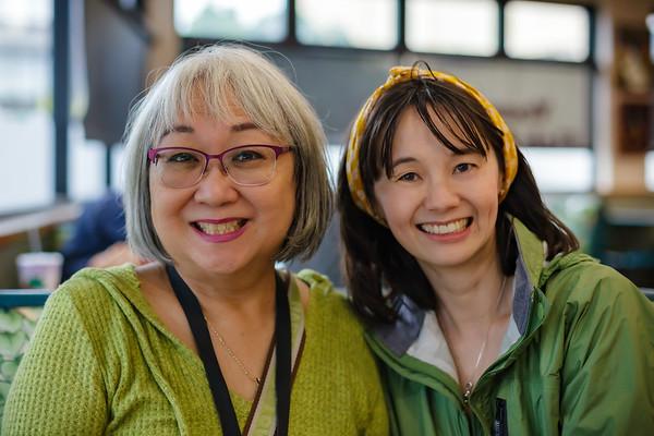 Linda and Valerie