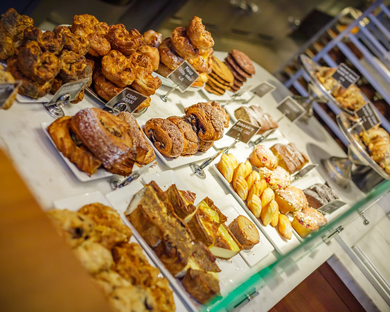 ...for another round of yummy pastries and quality Kona coffee