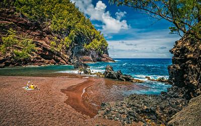 Red Sand Beach V