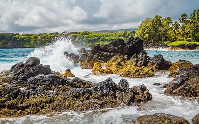 Near Kāwe'E Point on Maui.