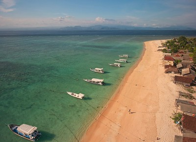 Indonesia, Nusa Lembongan, drone, 2019