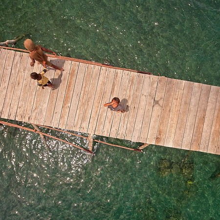 Indonesia, Togean, drone, 2019