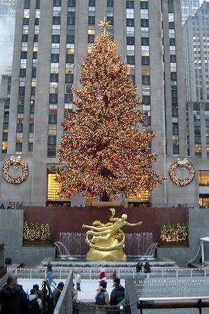 Rockefeller - Xmas tree and rink