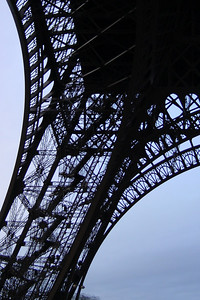 Eiffel Tower - another silhouette