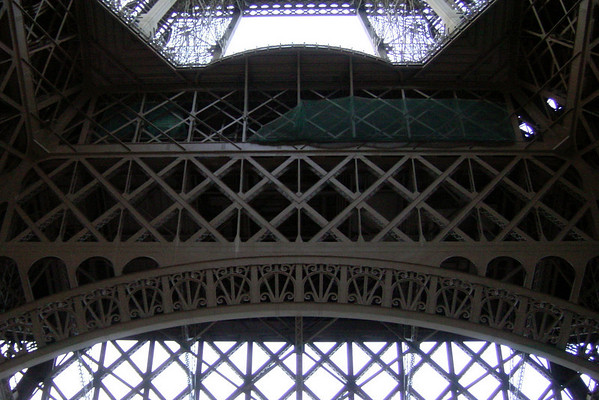 Eiffel Tower - interior construction study