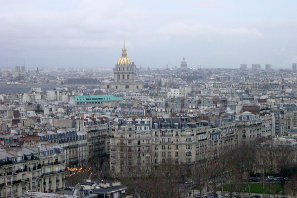 View of from Eiffel Tower