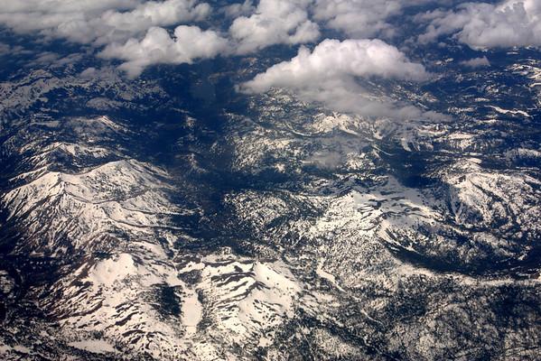 Approaching Lake Tahoe