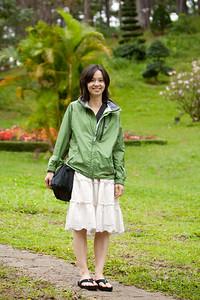 Valerie in the park