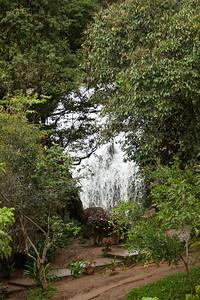 Prenn Falls through the trees