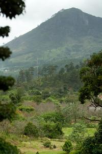A neighboring peak