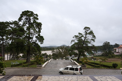 After lunch, Valerie and I arrive at the Sofitel Dalat Palace