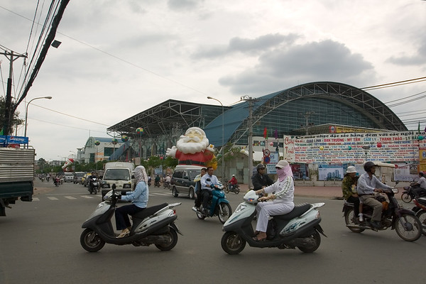 After enjoying lunch at home, Valerie and I take a ride through the streets of Saigon...