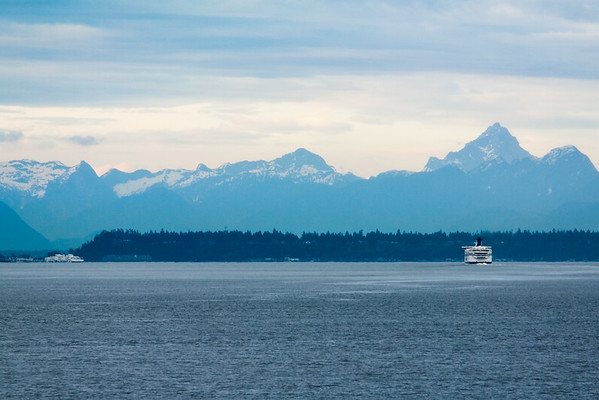 A ferry bound for Tsawwassen