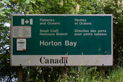 We reach the Horton Bay dock