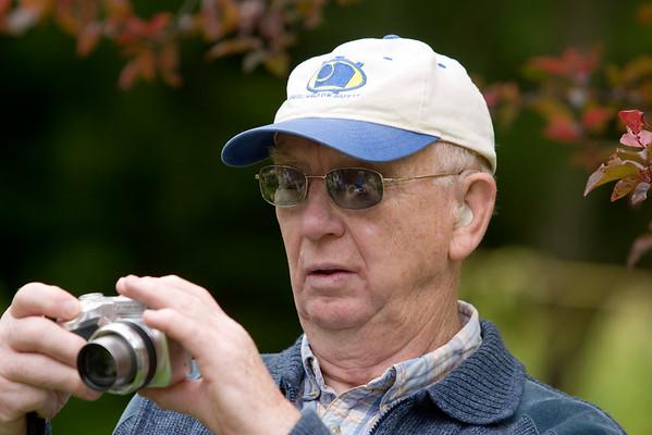 Bill inspects his last shot