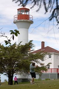 Family and friends have returned to the Mayne Island Lighthouse for a mini-golf tournament