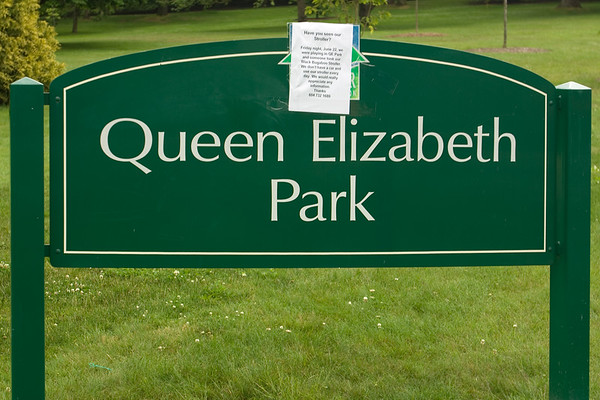 Today's walk will be through Queen Elizabeth Park
