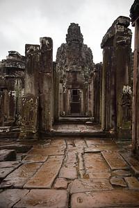 Collapsed gopura