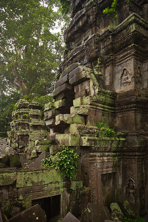 One of Ta Prohm's towers