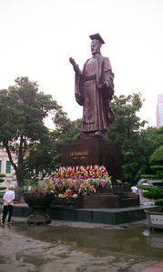 Statue of King Ly