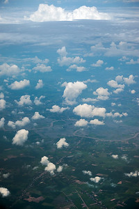Vàm Cỏ Đông River flows by Châu Thành in Tây Ninh Province