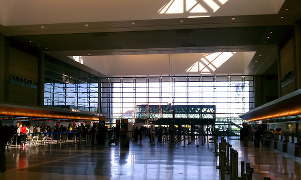 DAY 0 - I check my bags at the Tom Bradley International Building for a rare business trip...the first international trip of my career.  This will also be my first solo transcontinental flight, first time in Germany, and only the second time I have ever visited Europe.