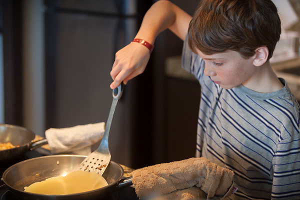 Grant is a crepe making machine