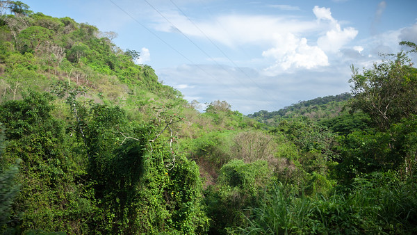 On the road between Nuevo Vallarta and our destination