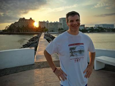 Dave at sunrise