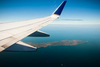 Santa Catalina Island's Two Harbors comes into view