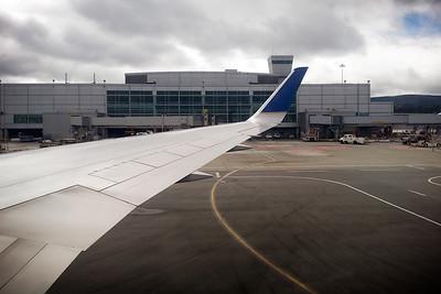 Arrival at SFO