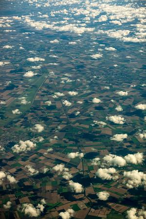 Somewhere over England