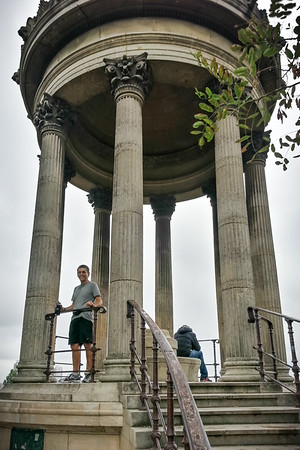 I stand upon the Temple de la Sibylle (Photo by Maximilien Kopriwa)